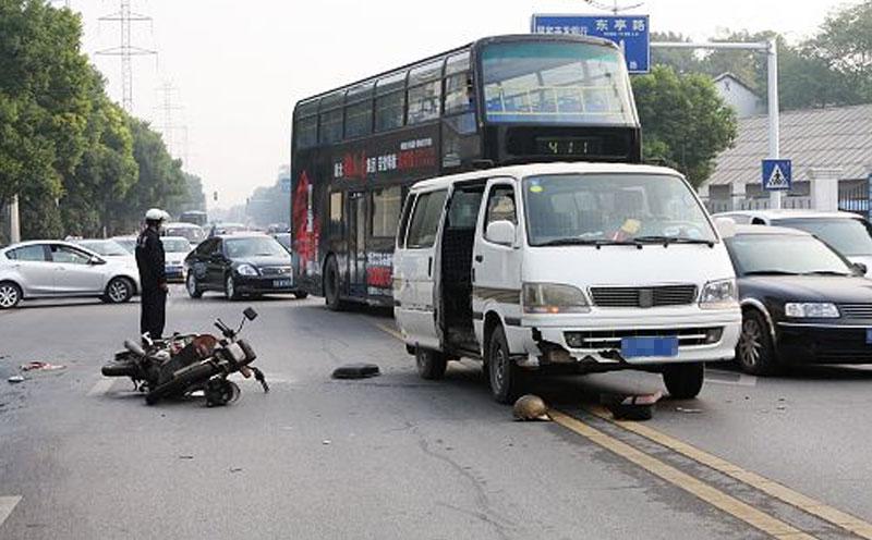 发生交通与工伤事故