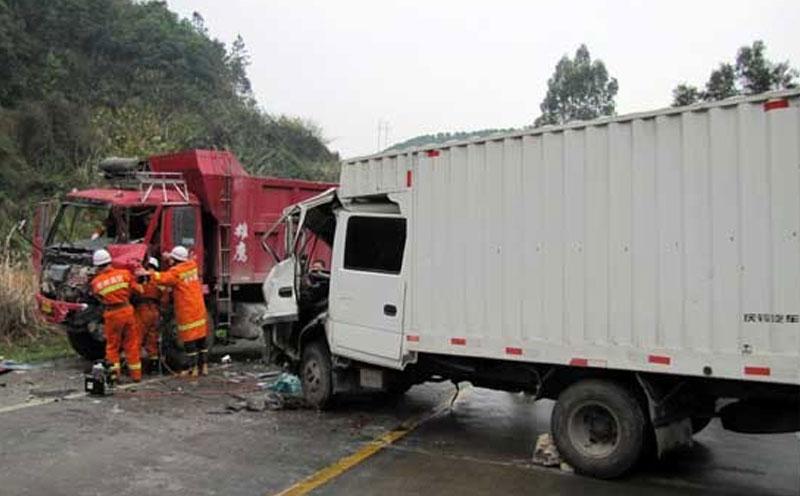 国道发生交通事故
