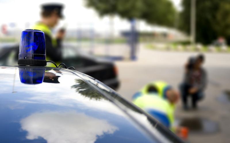 肇事者接受交通管理部门的处罚